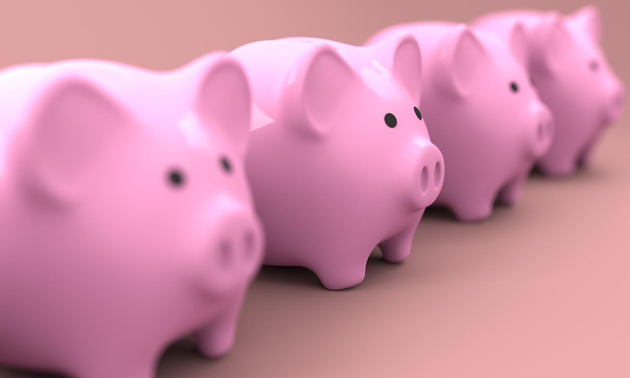 Vakuudettomat lainat - Säästöpossut